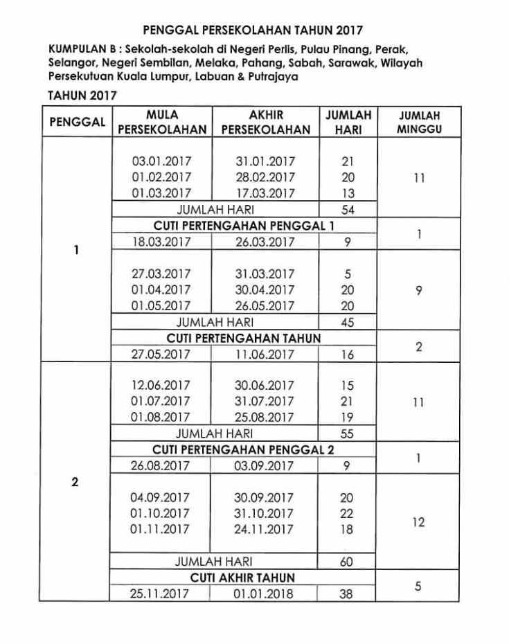 jadual-cuti-sekolah-2017-2